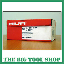 HILTI 27MM GENUINE NAILS FOR HILTI DX460 X-DNI 27 MX 34377 MAGAZINE
