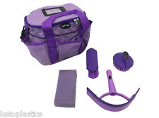 Knight Rider Horse / Pony PURPLE grooming kit, complete with bag and accessories