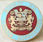 BURNLEY Rare LONDON SUPPORTERS CLUB Badge Brooch pin Gilt 25mm x 25mm