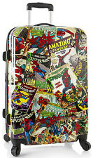 "Heys America Marvel Luggage Spider-Man 26"" Spinner Hardside Suitcase NEW"