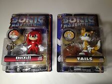 SONIC ADVENTURE Action Figure TAILS and Knuckles Lot Figures SEGA Resaurus