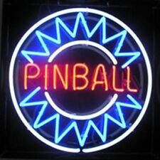 "New Pinball Game Arcade Game Room Beer Neon Sign 17""x14"" Ship From USA"
