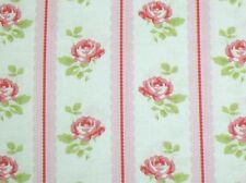 Tanya Whelan Cottage Shabby Chic Lulu Roses Lilah Rose Stripe PWTW096-Pink BTY