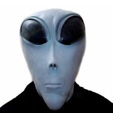 UFO Roswell Area 51 Big Eye Alien Head Mask Party Cosplay Costume Tricky Prop
