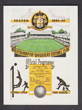 Panini - Football 84 - # 252 1954/55 Wolves v Arsenal