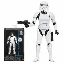 Hasbro Star Wars Han Solo Black 6 Action Figure Disguise Storm Trooper Suit Gun