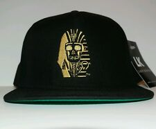NEW Last Kings MUMMIFIED GOLD Thread Snapback hat 100% Authentic MELROSE EDITION