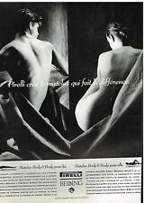 Publicité Advertising 1992 Le Matelas Pirelli Bedding