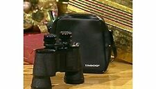 New!! Tasco fiberglass binoculars 15-20x50 with leather case - Retail packaging