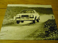 FORD ESCORT RS 1800 EAST AFRICAN RALLY PRESS PHOTO Brochure related jm