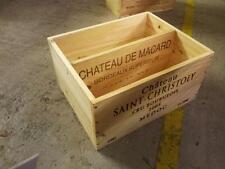 1 x francese autentica in legno vino BOX-Ufficio scartoffie Organizzatore Rack ordinato