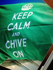 the Chive *Authentic* BIG Flag 3' x 5' Keep Calm and Chive On (KCCO BFM)