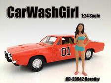 CAR WASH GIRL DOROTHY FIGURE 1:24 SCALE DIECAST MODELS BY AMERICAN DIORAMA 23942