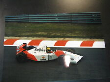Photo Marlboro McLaren Ford MP4/8 1993 #8 Ayrton Senna (BRA) GP Spa (BEL)