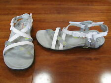 NEW MERRELL Terran Lattice Sandals Shoes Womens Sz 6 WHITE J22226 $85