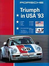 Porsche 911 Wins IMSA supercar 1993 Factory Poster New ON SALE
