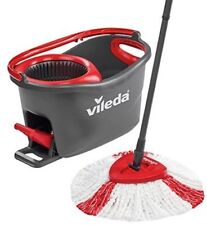 Vileda Easy Wring Clean Turbo Microfibre Mop & Bucket with Power Spin Wringer