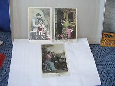 # Alte  Postkarten-Liebespaare-Frankreich- ca 1910/20er Jahre-beschrieben