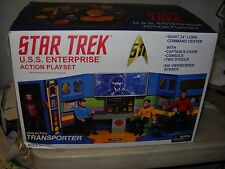Star Trek USS Enterprise Retro Bridge Playset 2008 Diamond Select New in Box MIB