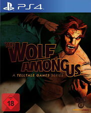 The Wolf Among Us (Sony PlayStation 4, 2014, DVD-Box)
