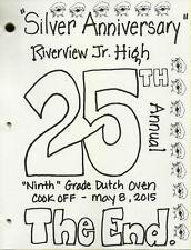 Dutch Oven Cookbook - 2015 (NEW!) - Help our School Fundraiser