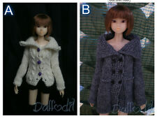 outfit coat fatto a mano momoko,pullip,fashion royalty, barbie, blythe