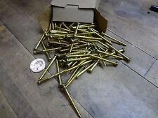 100 # 8 #8 x 1 3/4 solid brass phillips drive RH wood screws new wodworker new