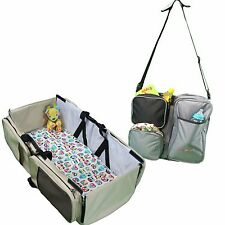 3 in 1 Diaper Bag - Travel Bassinet - Change Station - (Scratch and Dent)