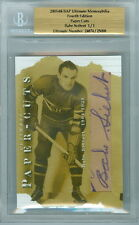 2003-04 BAP BABE SIEBERT 1/1 AUTO HOF PAPER CUTS ULTIMATE 4TH EDITION CANADIENS