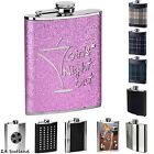 Amazing New Hip Flask 8oz Hip Flasks Various Design Style Flask Brand New Boxed