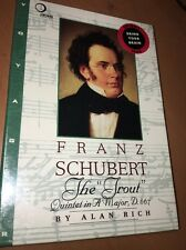 "FRANZ SCHUBERT THE ""TROUT""  QUINTET in A MAJOR,D. 667 CD-ROM SEALED"