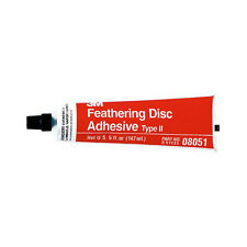 3M Feathering Disc Adhesive (Type 2), 5 oz Tube (Box of 2 Tubes) 08051