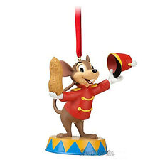 Disney Store Christmas DUMBO TIMOTHY MOUSE NUT CIRCUS Holiday Ornament 2012 NEW