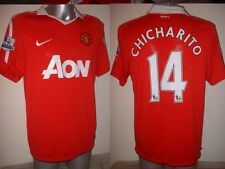 Manchester United CHICHARITO Nike Jersey Shirt Large Top Soccer Football Mexico