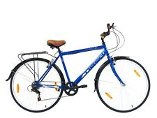 "Tiger Cycles Cobalt Gents Hybrid Commuter Touring Bike 22"" / 700c Blue"