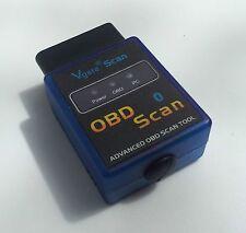 Fits Jaguar OBD2 OBDII  Wireless Bluetooth Scanner Diagnostic Code Reader Tool