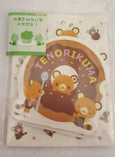 Sanrio Tenorikuma Notes With Mini Packages and Stickers