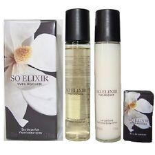 YVES ROCHER-Lot So Elixir EAU DE PARFUM -50 ml +5 ml + Gel Douch+ Lait / NEUF/