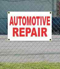 2x3 AUTOMOTIVE REPAIR Red & White Banner Sign Discount Size & Price FREE SHIP