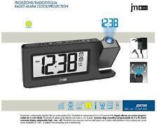 LOWELL J9709 RADIOSVEGLIA DISPLAY LED RADIO FM e VIDEOPROIEZIONE BLU 10 MEMORIE