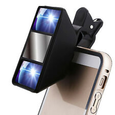 3D Stereoscopic Camera Lens Clip For iPhone Samsung Smart Phone Tablet
