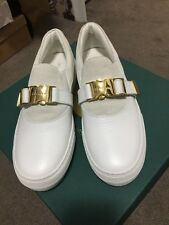 Women's Buscemi 40mm Clip Sneakers Shoes In White. Size 37. New W/ Box