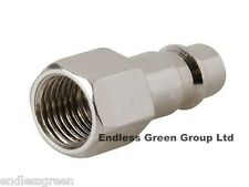 EURO FEMALE ADAPTOR 1/4 BSP - air line compressor tool / air hose fitting EU283