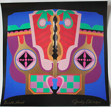JUDY CHICAGO - BIRTH HOOD - RARE SIGNED PRINT - POP ART TATE EXHIBITION