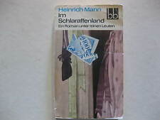 Heinrich Mann, Im Schlaraffenland Ein Roman unter feinen Leuten DDR 1971