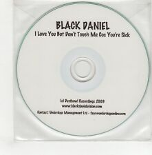 (GO710) Black Daniel, I Love You But Don't Touch ... - 2009 DJ CD