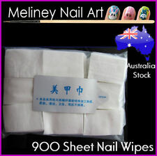 900 Sheets Lint Free Nail Wipes Nail Polish Remover tips Manicure Tool Art pads