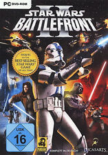 Star Wars: Battlefront II (2) PC DEUTSCH Top mit Handbuch in DVD Hülle
