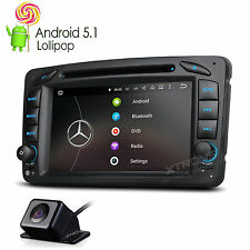 CAM+ Android 5.1 Car DVD GPS Satnav Radio 4Core For Mercedes Benz A-W168 G-W463