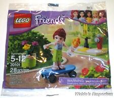 Lego Friends Polybag MIA SKATE BOARDER, Set # 30101 Sealed bag